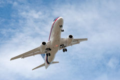 Sukhoi Superjet Royalty Free Stock Photo