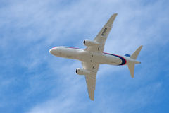 Sukhoi Superjet Royalty Free Stock Photos