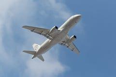 Sukhoi Superjet 100 Fotografie Stock Libere da Diritti