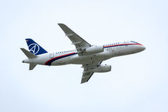 Sukhoi Superjet Stock Photos