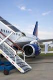 Sukhoi Superjet 100 Stock Image