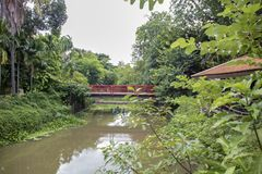 Sukhotai kanal arkivbilder