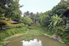 Sukhotai kanal royaltyfri foto