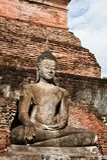 Sukhothai历史公园古老泰国的老的镇 免版税图库摄影