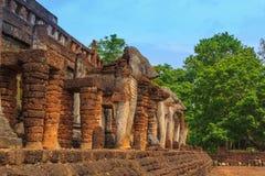 Sukhothai历史公园 免版税库存图片