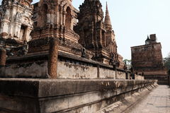 Sukhothai历史公园 免版税图库摄影