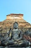 Sukhothai古城 免版税库存图片