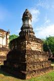 Sukhothai的,泰国古老塔 图库摄影