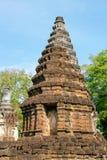 Sukhothai的,泰国古老塔 库存照片