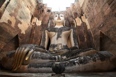 Sukhothai świątynia fotografia royalty free