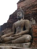 sukhothai αγαλμάτων του Βούδα Στοκ Εικόνα