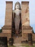 sukhothai αγαλμάτων του Βούδα Στοκ Εικόνες