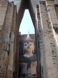 sukhothai αγαλμάτων του Βούδα Στοκ φωτογραφίες με δικαίωμα ελεύθερης χρήσης