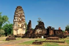 塔sukhothai 免版税图库摄影