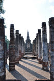 Sukhothai. The ruin antique of Sukhothai city - thailand Royalty Free Stock Photos