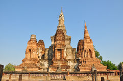 Sukhothai. The world's heritage at Sukhothai park - Thailand Royalty Free Stock Photography