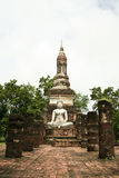 Sukhothai ancient temple buddha thailand Stock Image