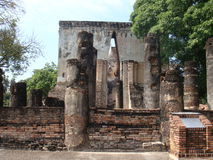 sukhothai antique de ruines Photographie stock libre de droits