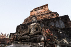 Sukhothai Boedha Stock Foto