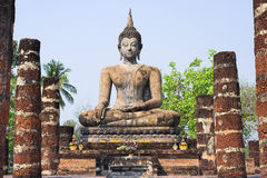 Sukhothai buddha fotos de stock