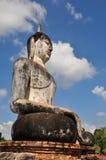 Sukhothai buddha. Ancient temple thailand Stock Photos