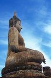 Sukhothai buddha in Sukhothai historical park Stock Photos