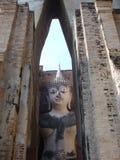 sukhothai de statue de Bouddha Photos libres de droits