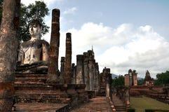 Sukhothai del mahathat di Wat Fotografia Stock Libera da Diritti