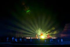 Sukhothai Historical Park. Sukhothai light and sound. Historical Park, Thailand Stock Images