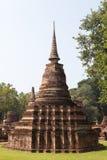 Sukhothai historical park. Buddhist temple ruins in Sukhothai hi Royalty Free Stock Images