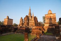 Sukhothai historical park. Buddhist temple ruins in Sukhothai historical park Royalty Free Stock Photography