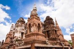 Sukhothai historical park. Buddhist temple ruins in Sukhothai historical park Stock Photos
