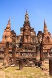 Sukhothai historical park. Buddhist temple ruins in Sukhothai historical park Stock Image