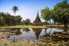 Sukhothai historical park. Buddhist temple ruins in Sukhothai historical park Royalty Free Stock Image