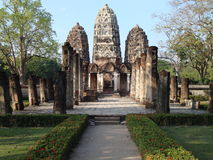 Sukhothai Historical Park Stock Photo