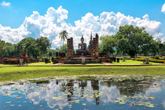 Sukhothai Historical park has declared World Heritage Royalty Free Stock Images