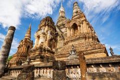 Sukhothai historical park, Mahathat Temple ,Thailand. Stock Image