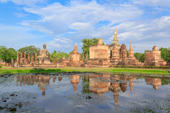 Sukhothai historical park, the old town Royalty Free Stock Images
