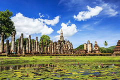 Sukhothai historical park. The old town of Thailand Royalty Free Stock Images