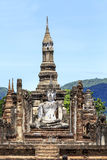 Sukhothai historical park. The old town of Thailand Stock Photography