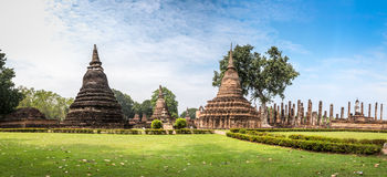 Sukhothai historical park, the old town of Thailand,Mahatat Temple. Thailand Stock Image