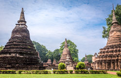 Sukhothai historical park, the old town of Thailand,Mahatat Temple Stock Photography