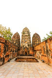 Sukhothai historical park the old town of thailand Stock Photography