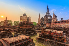 Sukhothai historical park the old town of thailand Stock Images