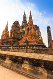 Sukhothai historical park the old town of thailand Royalty Free Stock Image