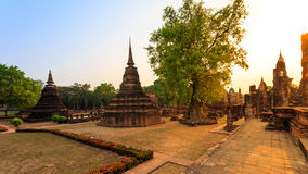 Sukhothai historical park the old town of thailand Stock Photo