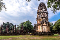 Sukhothai historical park, the old town of Thailand Royalty Free Stock Photography