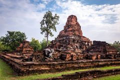 Sukhothai historical park, the old town of Thailand Royalty Free Stock Photos