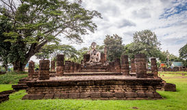 Sukhothai historical park, the old town of Thailand Royalty Free Stock Image
