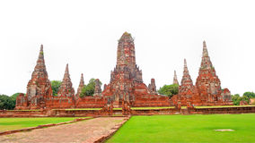 Sukhothai historical park, the old town of Thailand Royalty Free Stock Photo